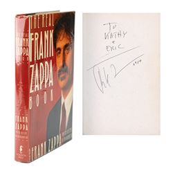 Frank Zappa Signed Book