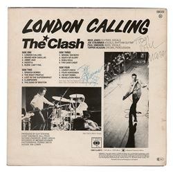 The Clash: Strummer and Simonon Signed Album