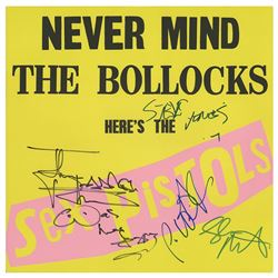 Sex Pistols Signed Album