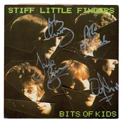 Stiff Little Fingers (2) Signed Albums