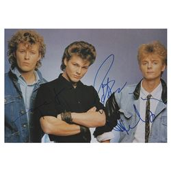 A-ha Signed Photograph