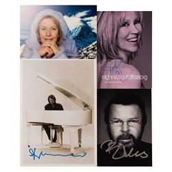 ABBA (4) Signed Photographs