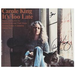 Carole King Signed Photograph