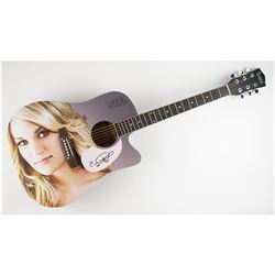 Carrie Underwood Signed Guitar
