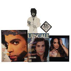 Prince: Mayte Signed Photograph and Ephemera