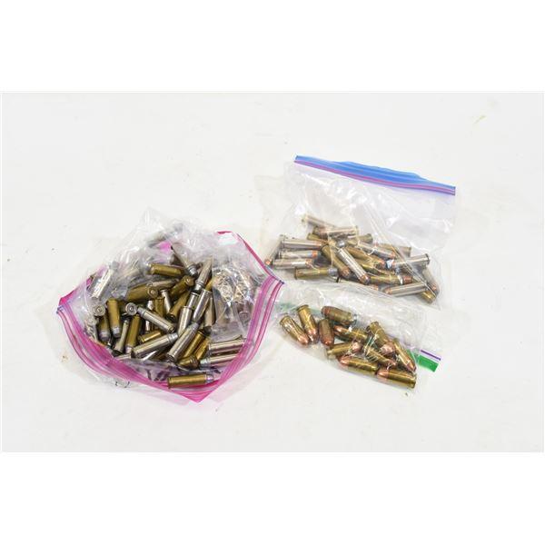Mixed Lot Reloaded Handgun Cartridges