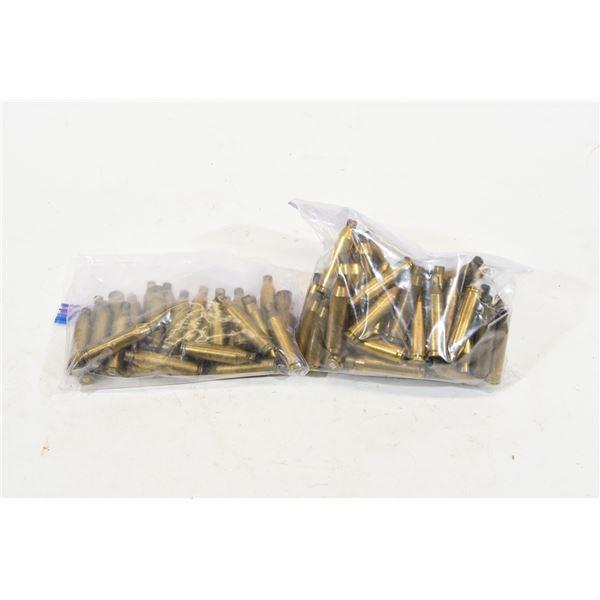 Fired .243 Winchester Brass