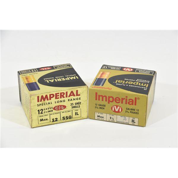2 Boxes Imperial 12 Gauge  Ammunition