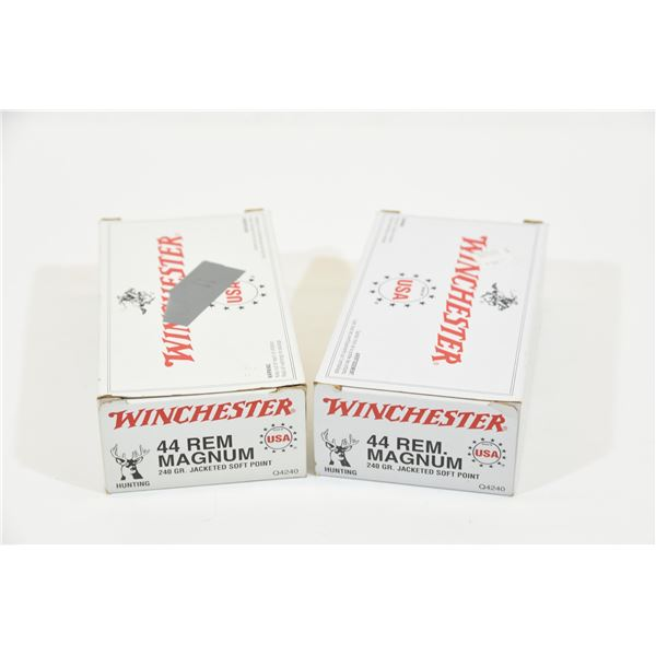 2 x 50 Winchester .44 Magnum