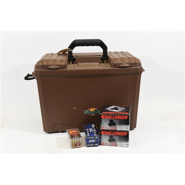 Assorted Ammo and Flambeau Case 17x10x12
