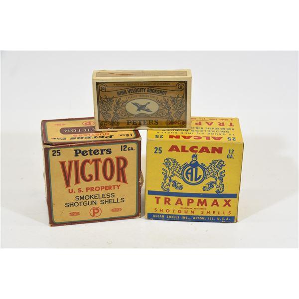 Vintage 12 Gauge Ammunition