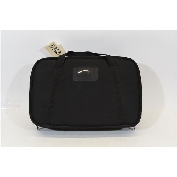 Black Nylon Padded Case