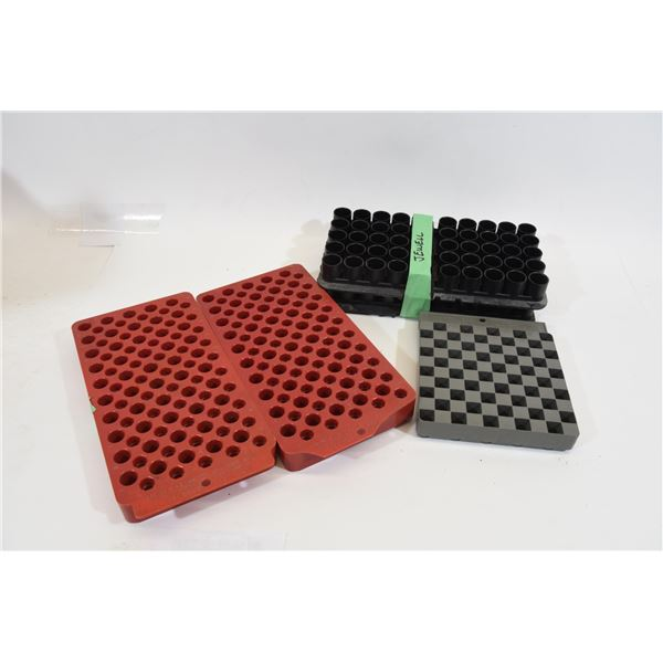 Assorted Loading Trays