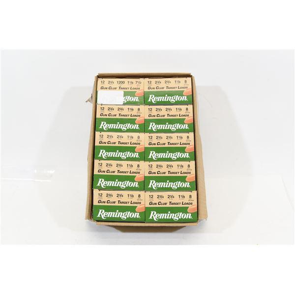 10 Boxes 12 Gauge