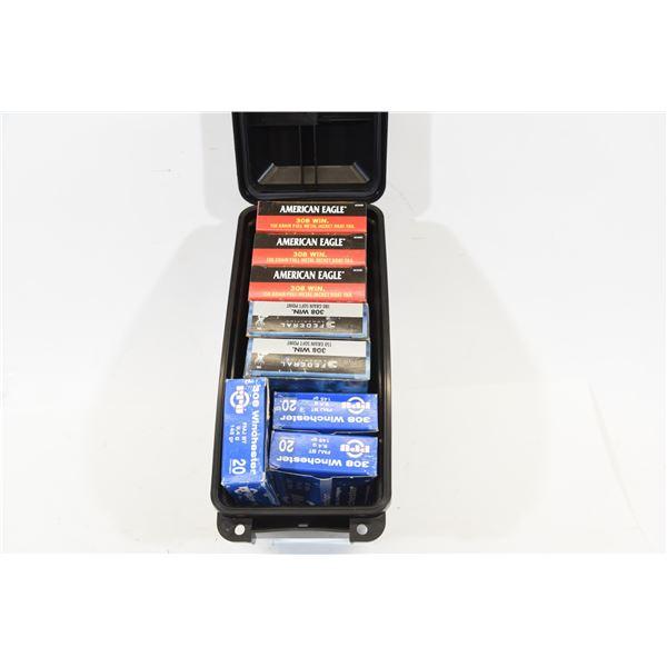 8 Boxes Mixed .308 Ammunition