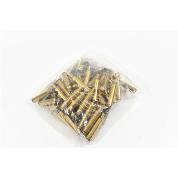 Primed .244 Ackley Brass Approximately 100 rounds