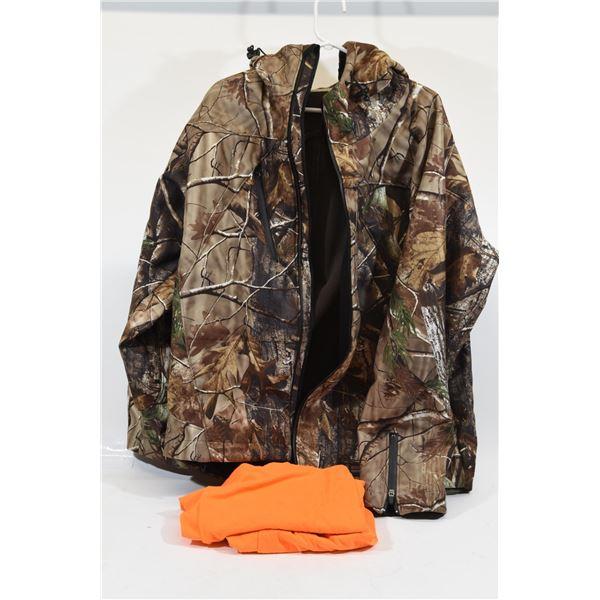 Shadow Wear Camo Neoprene Jacket XL