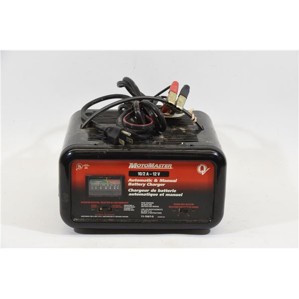 Motomaster 10/2amp Battery Charger