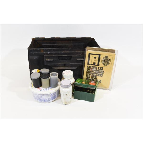 Ammunition Can w/ Black Powder Accessories