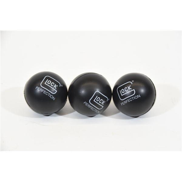 3 Glock Stress Balls