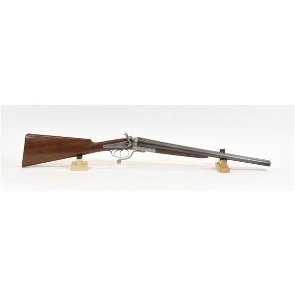 Charles Ingram Glasgow S X S Underlever Shotgun
