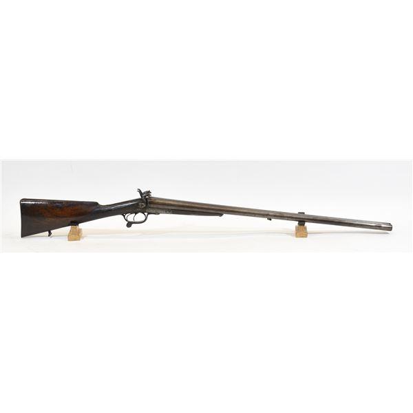 Unknown Under Lever Pinfire Shotgun