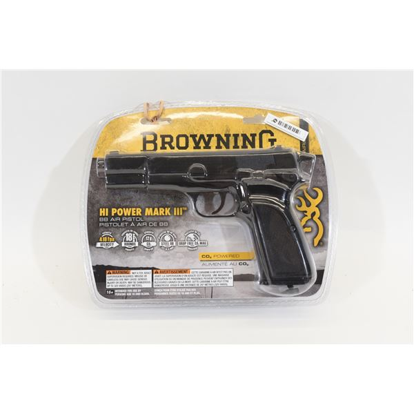 Browning Hi Power Mark III Pistol