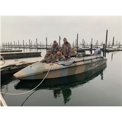 Rhode Island Sea Duck Hunt for 4 Hunters