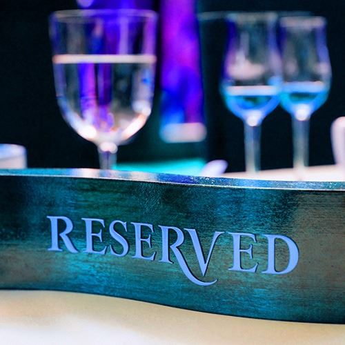 Reserved VIP Table of 8