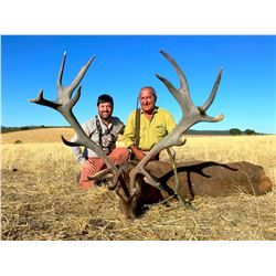 GIUSEPPE CARRIZOSA: 4-Day Iberian Red Stag Hunt for Two Hunters in Spain - Includes Trophy Fees