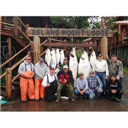 Alaskan self guided fishing trip with Island Point Lodge