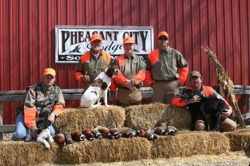 2 DAY/ 2 NIGHT ALL INCLUSIVE PHEASANT HUNT FOR 2