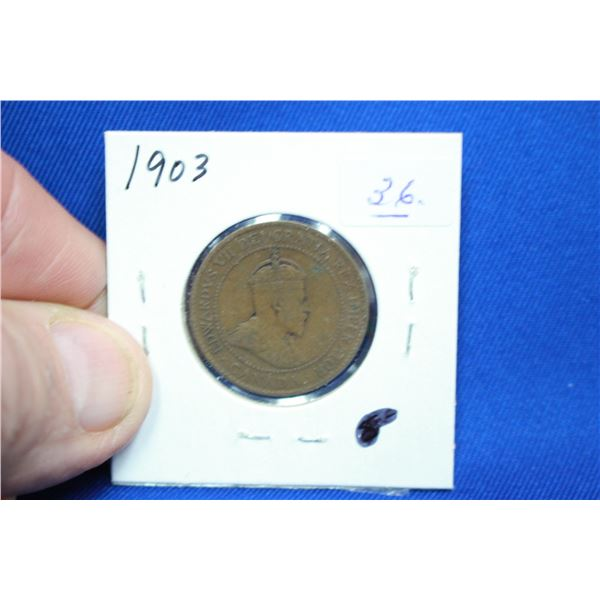 Canada One Cent Coin - 1903