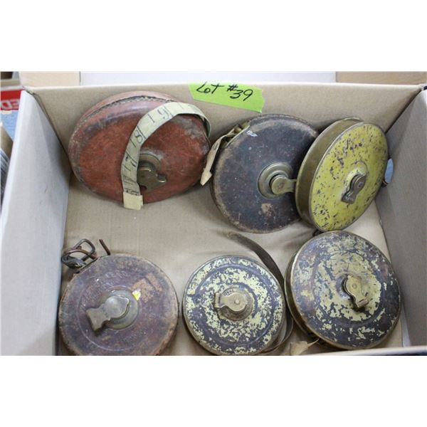 6 - Old Measuring Tapes