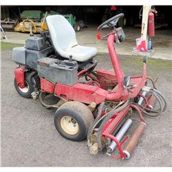 TORO Greensmaster 3150 Riding Lawn Mower w/ Vanguard Commercial 18HP Motor (starts & runs, see video