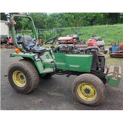 John Deere 955 Riding Tractor 33 HP 4WD (starts & runs, see video)