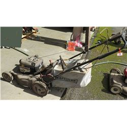 Craftsman Walk Behind Push Lawn Mower w/ Dust Blocker EZ Empty Bag