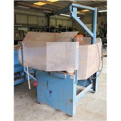 Sharpener Machine w/ Blue Metal Base & Parts/Accessories