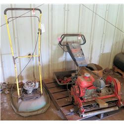 Jacobsen Greens King 522A Walk Mower & Yellow Mower (for parts only)