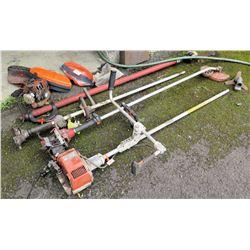 Multiple Trimmers:  Stihl FS 280K Straight Shaft, Power Pruner, etc w/ Accessories