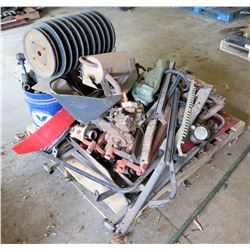 Pallet of Multi-Sheathe Roller, Wipers, Attachments, Parts, etc