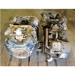 Qty 4 Small Engines: Vanguard 18HP, OHV, etc