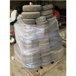 Pallet of Misc Used Tires