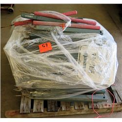Pallet Multiple Marking Stakes (used on golf course)
