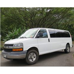 Chevrolet 2007 Express Van G33706 w/ 3 Rear Seat Rows 80,964 Miles (starts & runs)