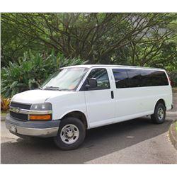 Chevrolet 2007 Express Van G33706 w/ 3 Rear Seat Rows 104,708 Miles (starts & runs)