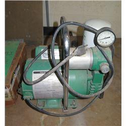 Bullard Free Air Pump Model EDP10 w/ Leeson Motor & Hose