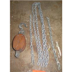 Block and Tackle with Chain