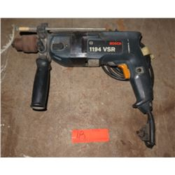 Bosch 1194 VSR Variable Speed Double Insulated Hammer Drill
