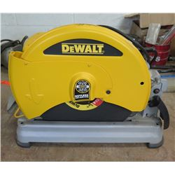 """DeWalt D28715 14"""" Chop Saw Type 2 50/60Hz"""